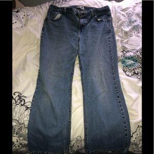 Blue Boot Cut Levi's Jeans